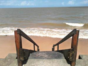 Ilha do Mosqueiro, plaża Praia do Paraiso