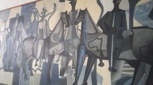 """""""Candangos"""" - obraz Emiliano di Cavalcanti"""