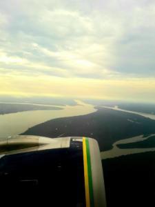 Manaus - widok z samolotu