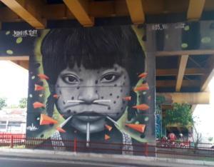 Mural w Manaus