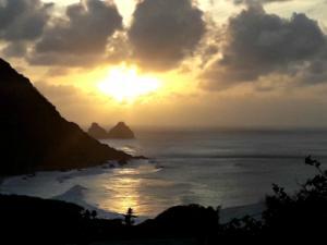Zachód słońca w Forte Nossa Senhora dos Remédios